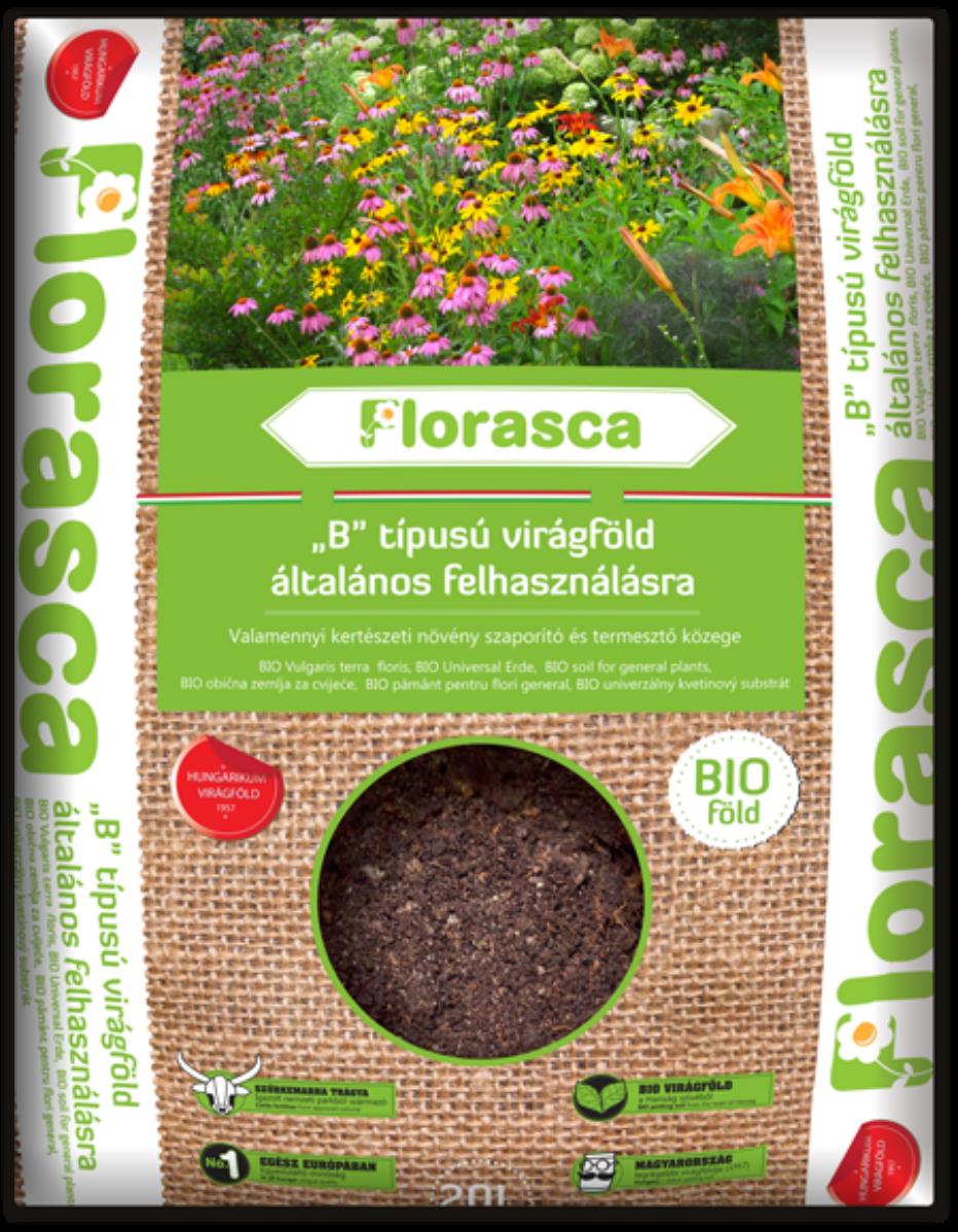 Image of Általános Florasca bio virágföld - 20l