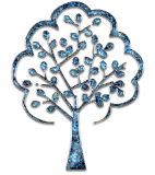 Ezüst ajándék díszfa kép