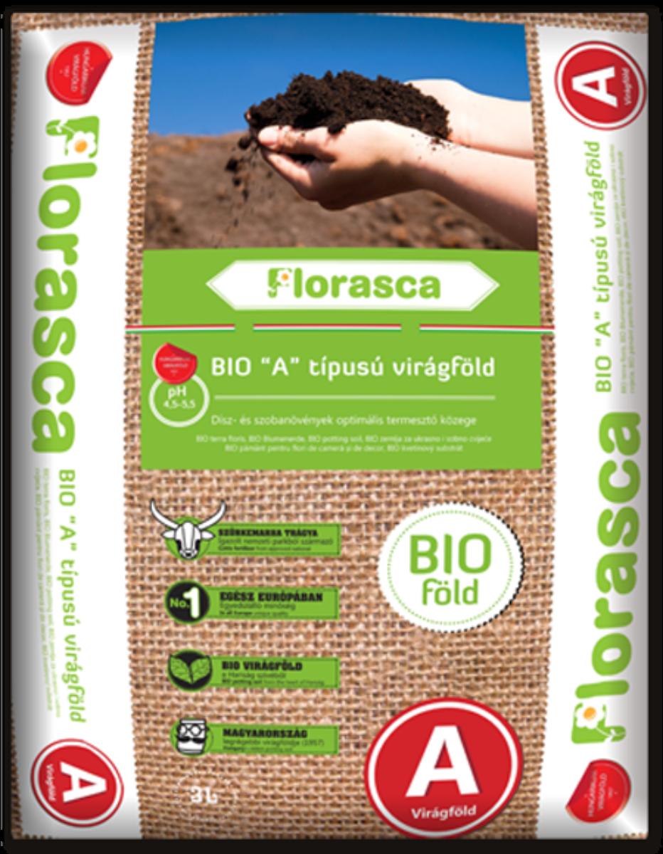 'A' típusú Florasca biovirágföld - 40l