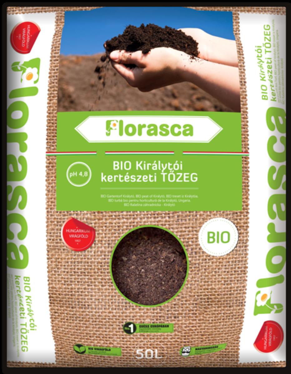 Florasca királytói kertészeti biotőzeg   40 liter