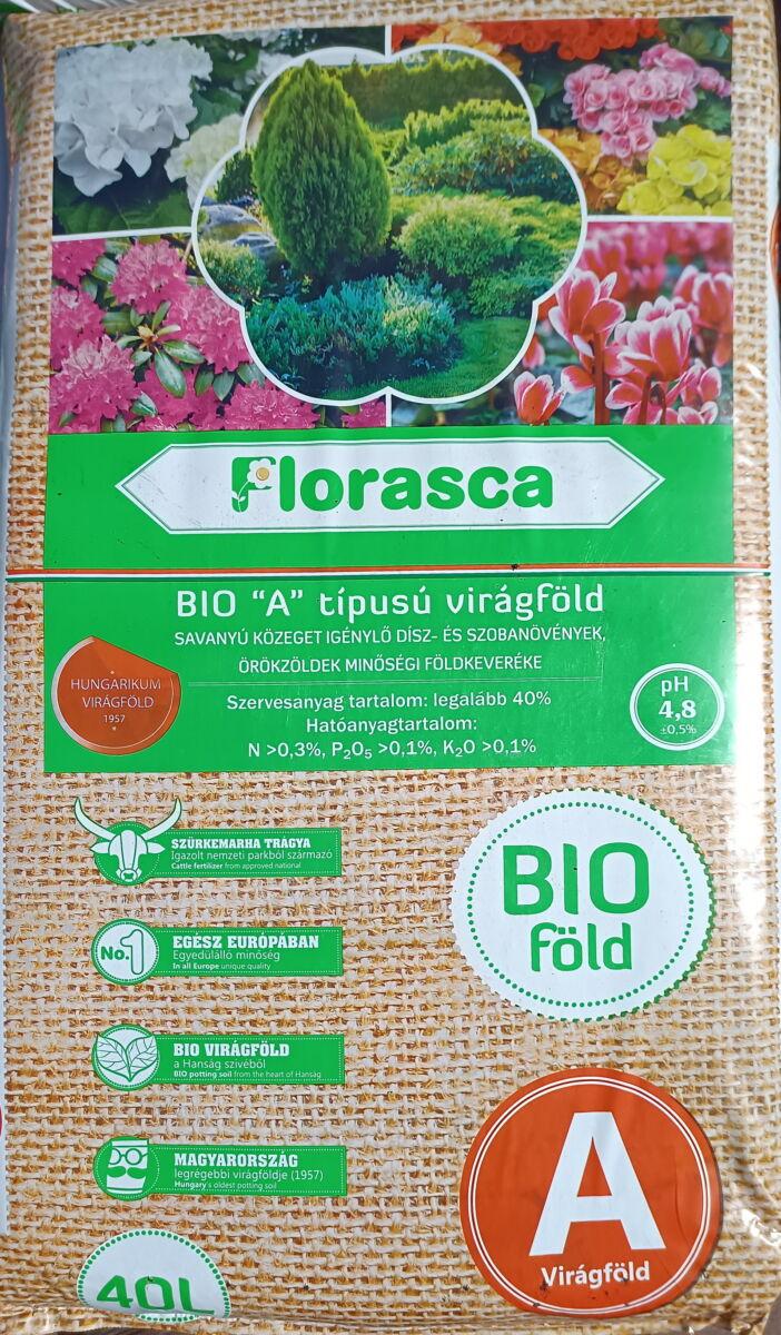 'A' típusú Florasca örökzöld bioföldkeverék   40 liter