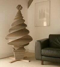 Karton karácsonyfa kép