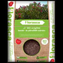 Florasca bio leander- és pálmaföld   20 liter