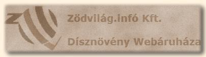 Zöldvilág.infó Kft. old logó