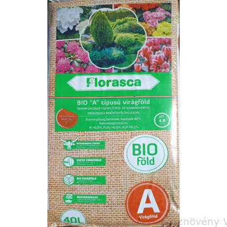 """BIO """"A"""" típusú örökzöld Florasca földkeverék"""
